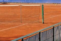 Empty tennis court Royalty Free Stock Photo