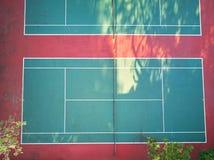 Empty tennis court Stock Images