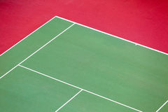 Empty Tennis court background. Aerial shot Royalty Free Stock Image