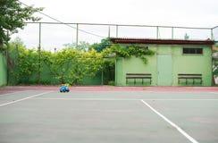 Empty tennis court. Stock Photography