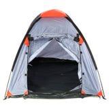 Empty tent Stock Photo