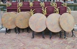 Empty terrace Royalty Free Stock Photo