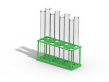 Empty Test Tubes Royalty Free Stock Photography