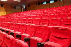Empty theater Royalty Free Stock Image
