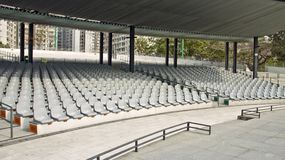 Empty Theater Stock Photography
