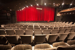 Empty theater interior Stock Image