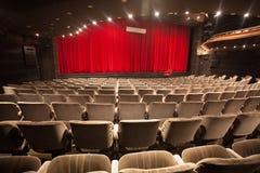 Empty theater interior Stock Image