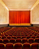 Empty theater and stage Stock Images