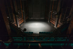 Empty theater stage Royalty Free Stock Photography