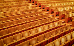 Empty theater - Stock Image Royalty Free Stock Photo