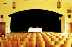 Empty theatre 1 Royalty Free Stock Photo