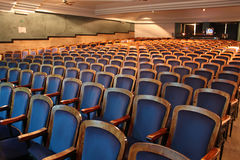 Empty theatre Royalty Free Stock Image