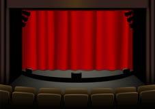 Empty theatre Stock Photos