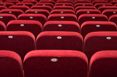 Empty theatre auditorium cinema or conference hall Stock Image