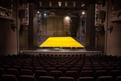 Empty theatre stage Stock Photos