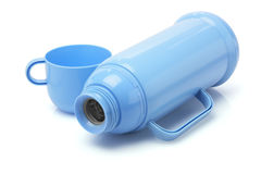 Empty Thermos Flask Stock Photo