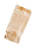 Empty thin paper bag, Royalty Free Stock Photos