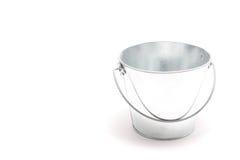 Empty tin bucket Royalty Free Stock Image
