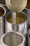 Empty Tin Cans Stock Image