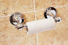 Empty toilet paper roll Royalty Free Stock Photo