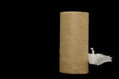 Empty Toilet Paper Roll Royalty Free Stock Photography