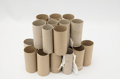 Empty Toilet Paper Roll Stock Photography