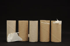 Empty Toilet Paper Roll Stock Images