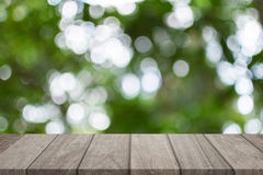 Empty top wooden table stock photography