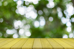 Empty top wooden table royalty free stock photo