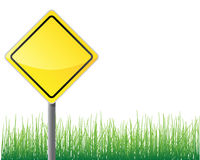 Empty traffic sign. Stock Photos