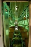 Interior of old passenger car  Stock Photos
