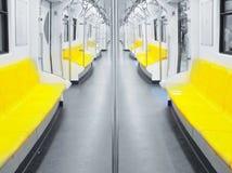Empty Train. Bts Royalty Free Stock Photos