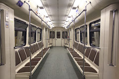 Empty train Royalty Free Stock Photography