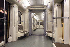 Empty train Royalty Free Stock Images