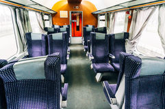 Empty Train with No Passengers Royalty Free Stock Image
