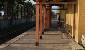 Free Empty Train Station Royalty Free Stock Image - 36714266