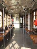 Empty Tram Royalty Free Stock Photo