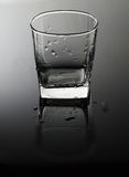 Empty, transparent glass Stock Photography