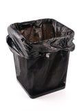 Empty trash bin Stock Photo