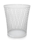 Empty trash bin. 3D rendered image Stock Photos