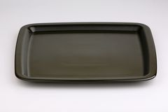Empty tray Royalty Free Stock Photography