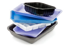 Empty Trays Royalty Free Stock Photos