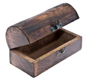 Empty treasure box Royalty Free Stock Images