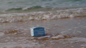 Empty treasure chest stock footage