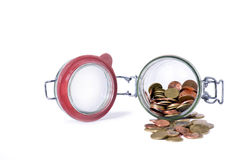 Empty treasury Stock Photography