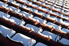 Empty tribune. A empty tribune in Buenos Aires Royalty Free Stock Images