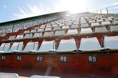 Empty tribune. An empty tribune in Buenos aires Stock Photo