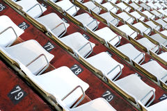 Empty tribune Stock Image