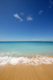 Empty Tropical Beach. An empty tropical beach in Hawaii Stock Image