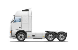 Empty Truck Stock Image